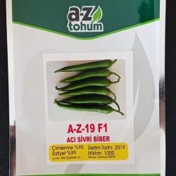 A-Z-19 F1 Acı Sivri Biber Tohumu