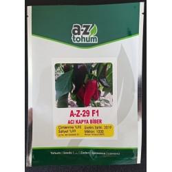 A-Z-29 F1 Acı Kapya Biber Tohumu