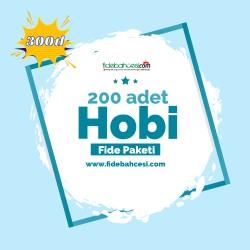 Hobi Fide Paketi 200 Adet