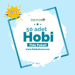 Hobi Fide Paketi 50 Adet