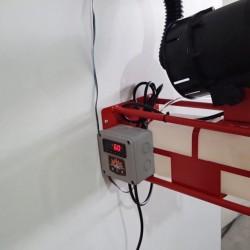 Mantarhane Sisleme Aracı (ULV) Isı Sensörlü